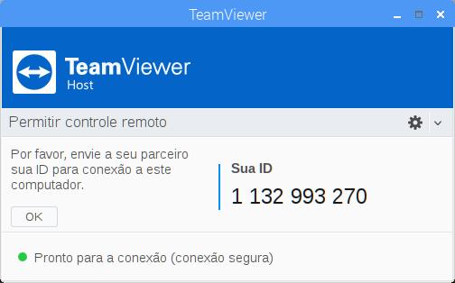 Tela Principal TeamViewer