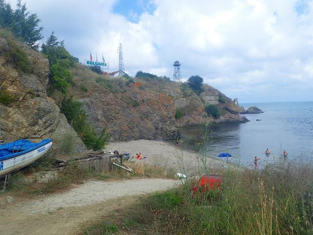 Ostatnia plaża po bułgarskiej stronie