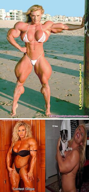 8 mulheres que abusaram dos esteroides.