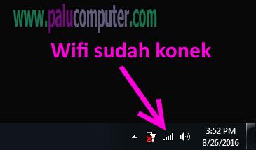 wifi sudah terkoneksi
