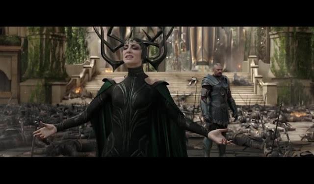 Hela, The Goddess of Death Invaded Asgarda