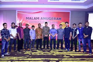 Malam Anugerah Kampung Media Di NTB Tahun 2016