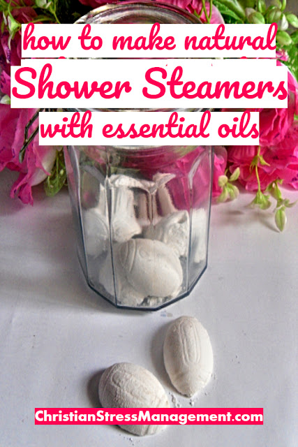 How to Make Natural Shower Steamers with Essential Oils
