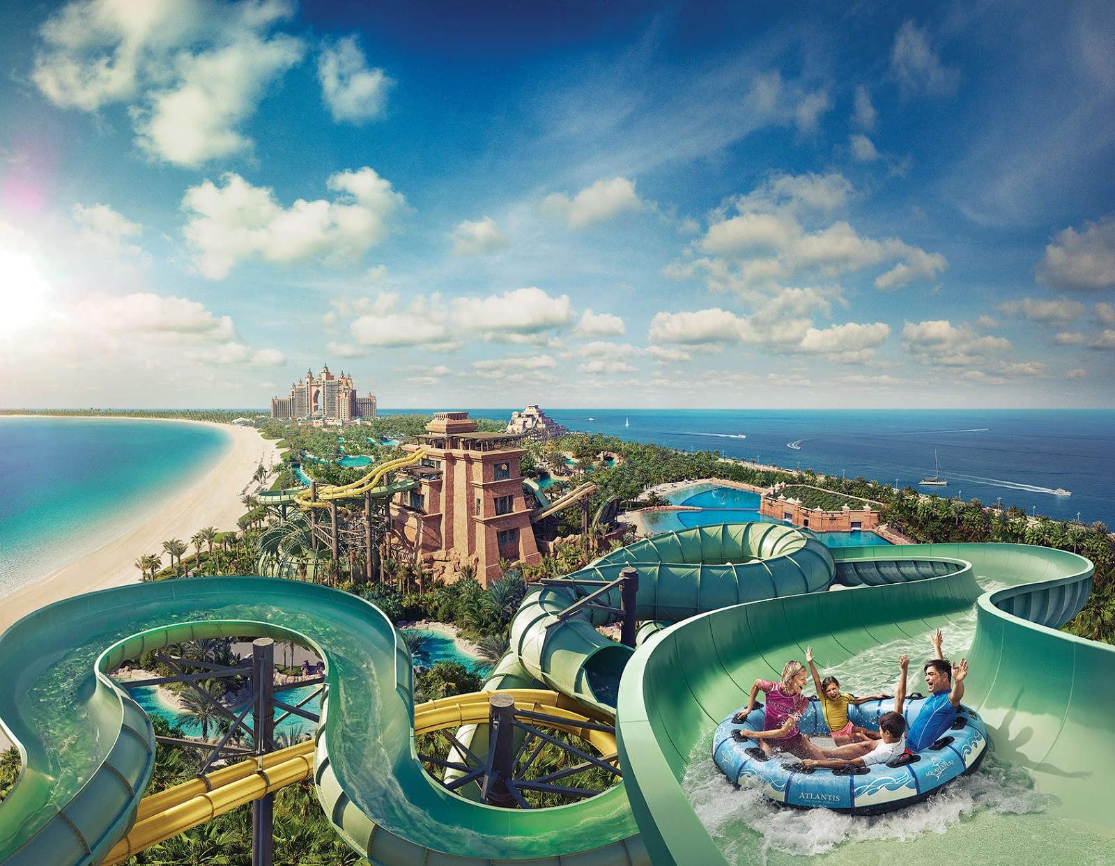 Aquaventure Waterpark Dubai All Culture Miscellaneous Hotels Resorts Humor