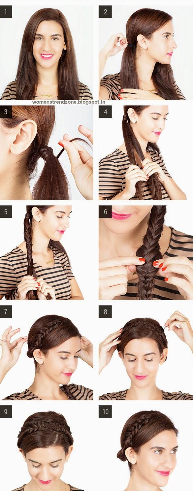 Strange Step By Step Easy Hairstyles Instruction For Long Medium Short Short Hairstyles For Black Women Fulllsitofus