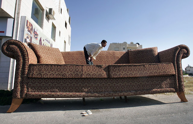 Guinness Book of Records for the biggest sofa in the world