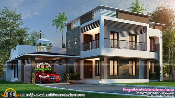 3116 sq-ft home with 4 BHK