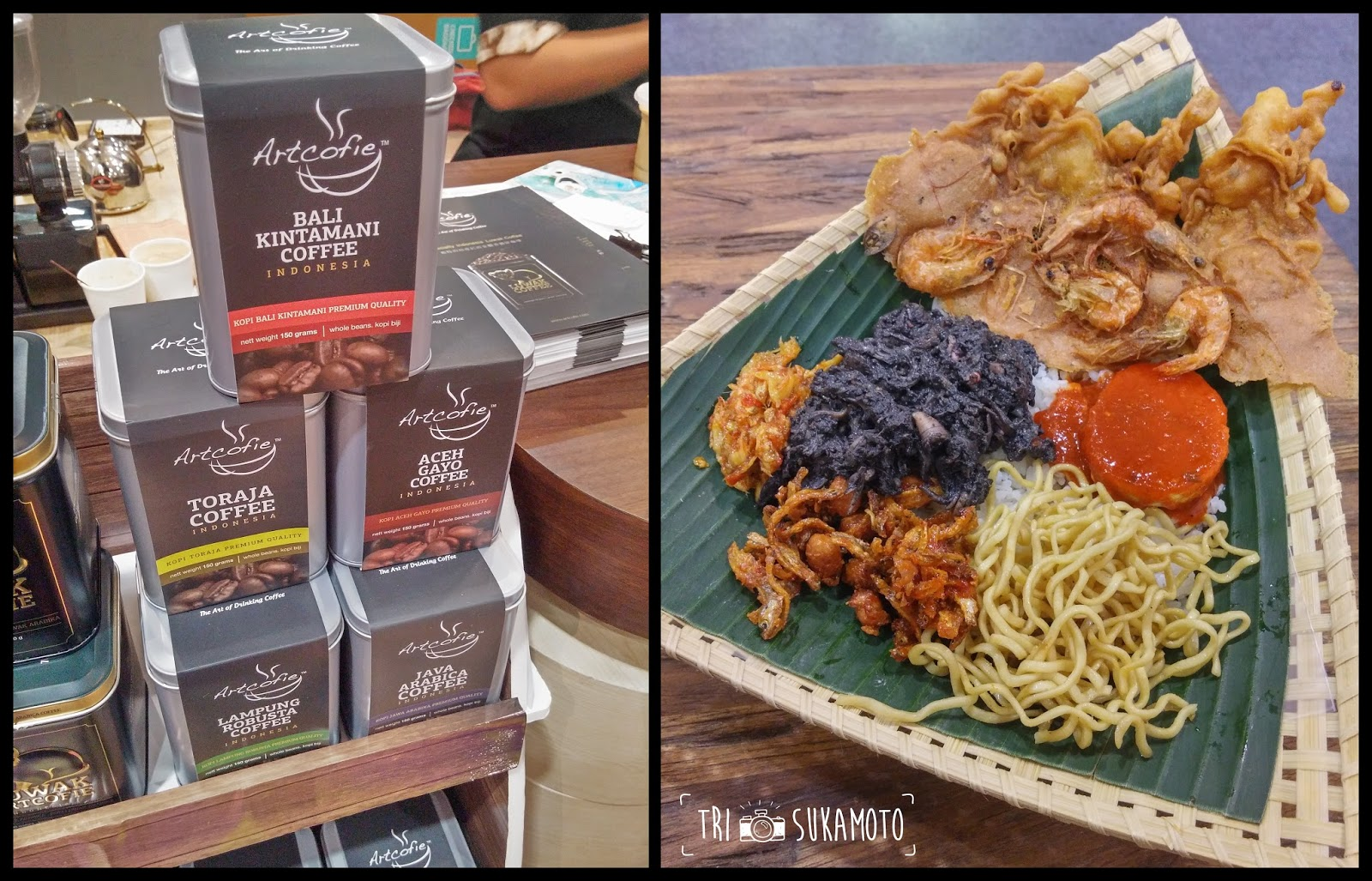 Kaleidoscope Surabaya Trip Part 7 Kopi Keong Mas Gourmet Indonesian Coffee Squid Rice Taken With Lg G3