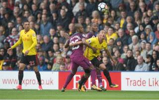 Manchester City Pesta Gol 6-0 di Kandang Watford