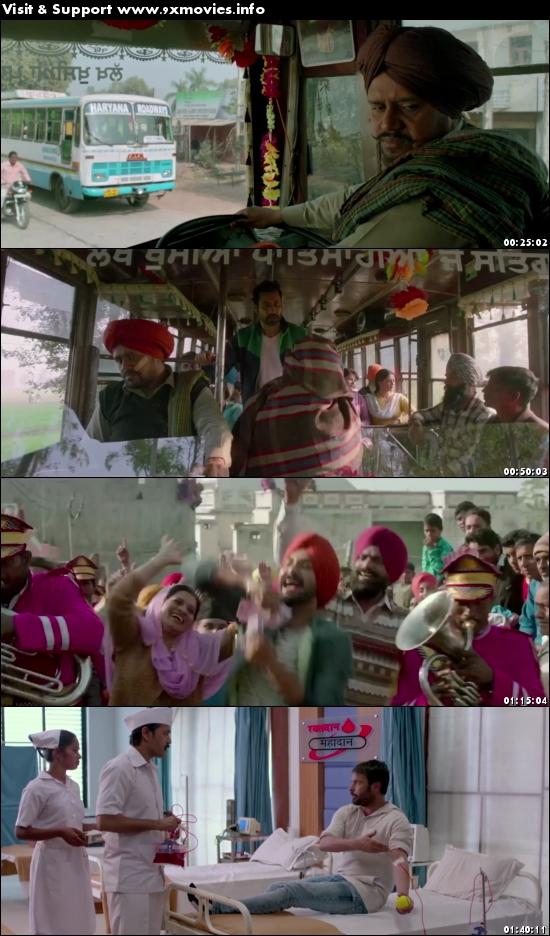 Vekh Baraatan Challiyan 2017 Punjabi 480p HDRip 350mb