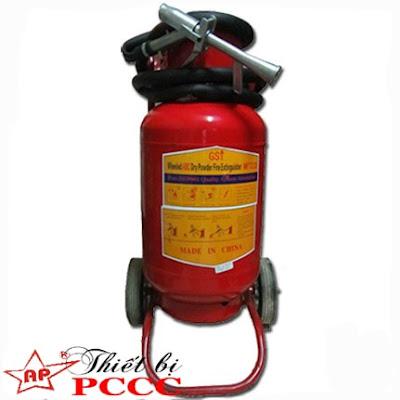 Bình chữa cháy bột BC MFZ 35kg xe đẩy