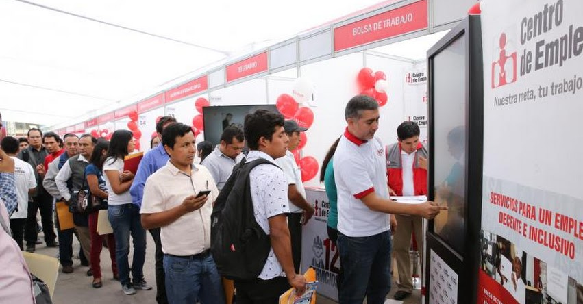 Durante tres días la Maratón del Empleo brindará más de 3 mil puestos de trabajo formal en Lima del 7 al 9 de agosto - www.empleosperu.gob.pe
