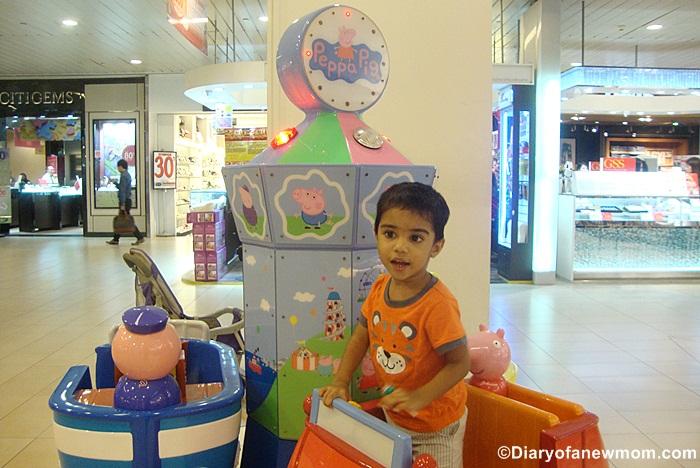 Peppa Pig Characters at Ang Mo Kio