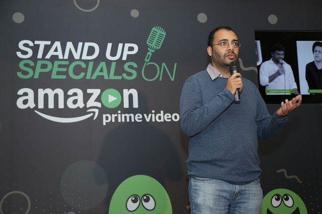Mr. Ajay Nair, COO, Only Much Louder at the launch of Amazon Standup specials