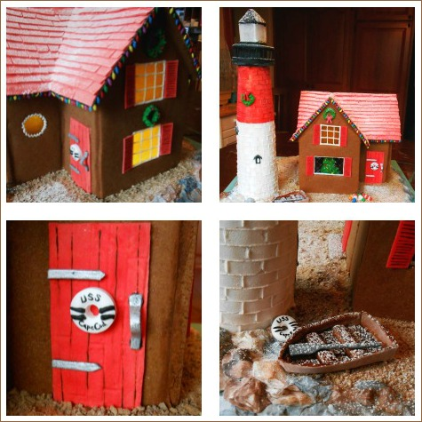 Gingerbread Lighthouse Ideas