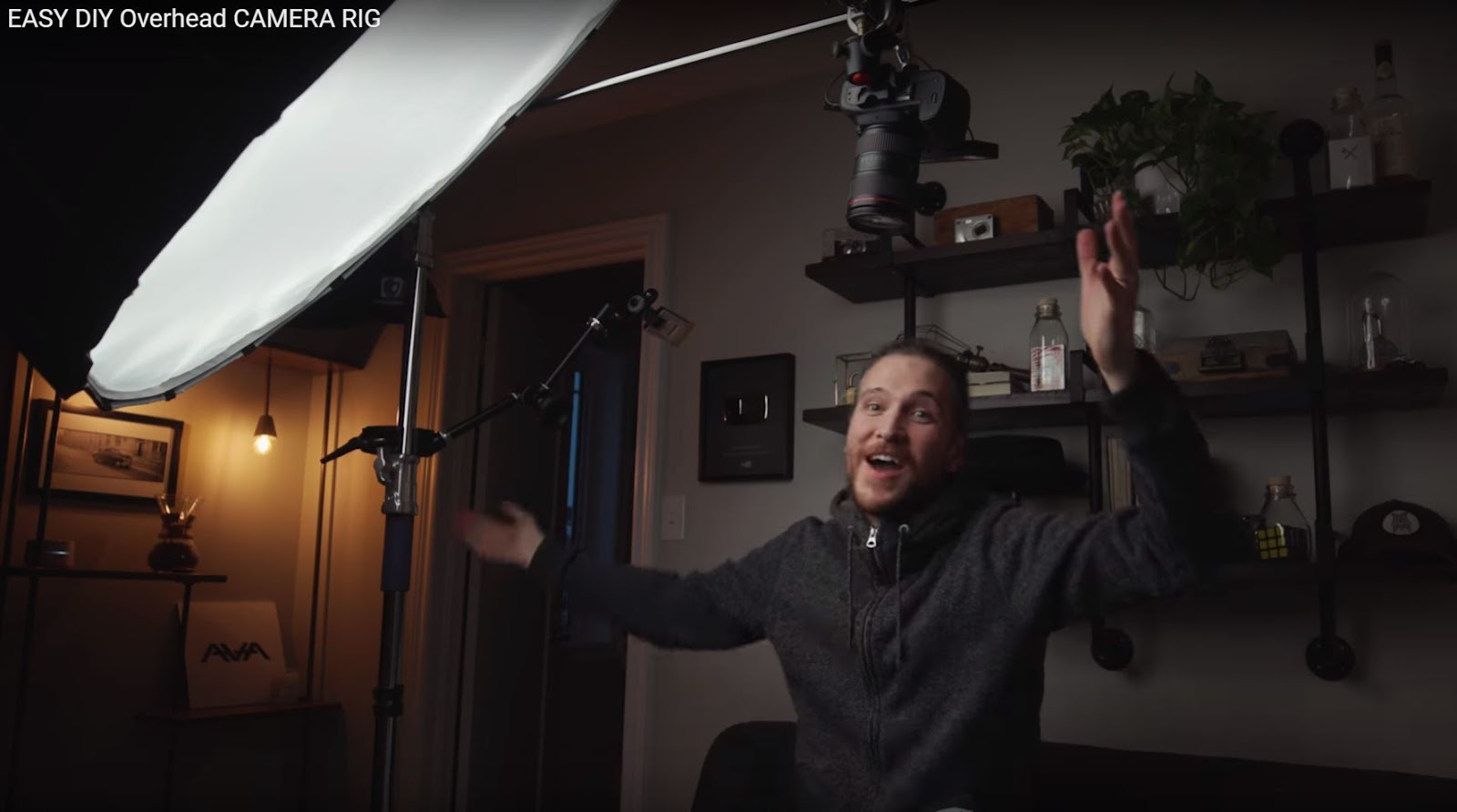 EASY DIY Overhead CAMERA RIG