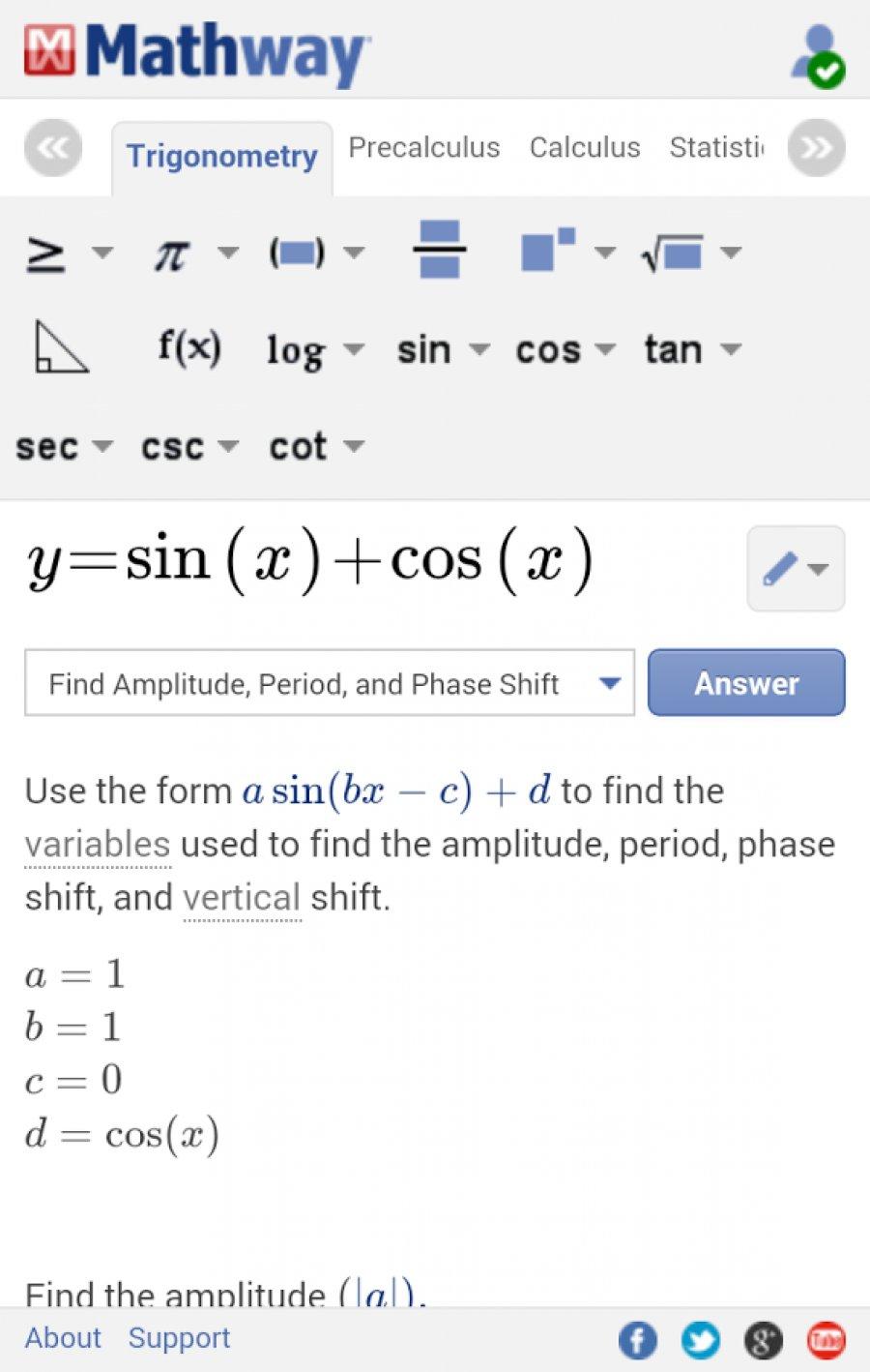 Beautiful Mathway App Download Photos - Worksheet Math for Homework ...