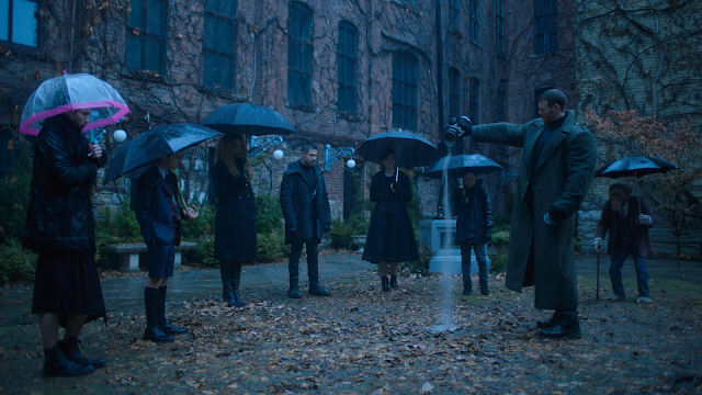 watch the umbrella academy netflix