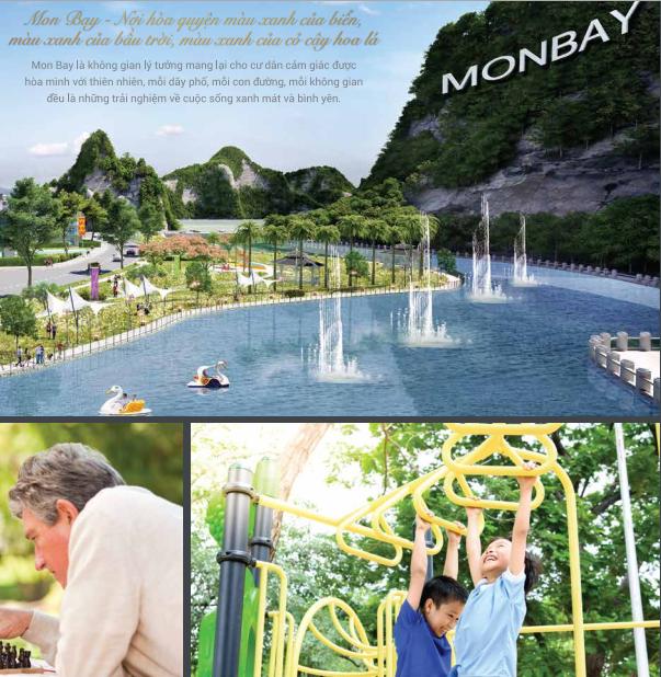 Dự án Mon Bay sở hữu không gian sống sơn thủy hữu tình