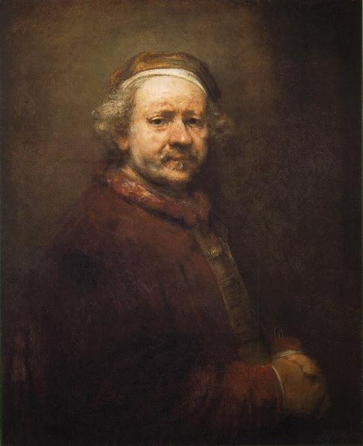 Rembrandt van Rijn – Self-Portrait [1669]