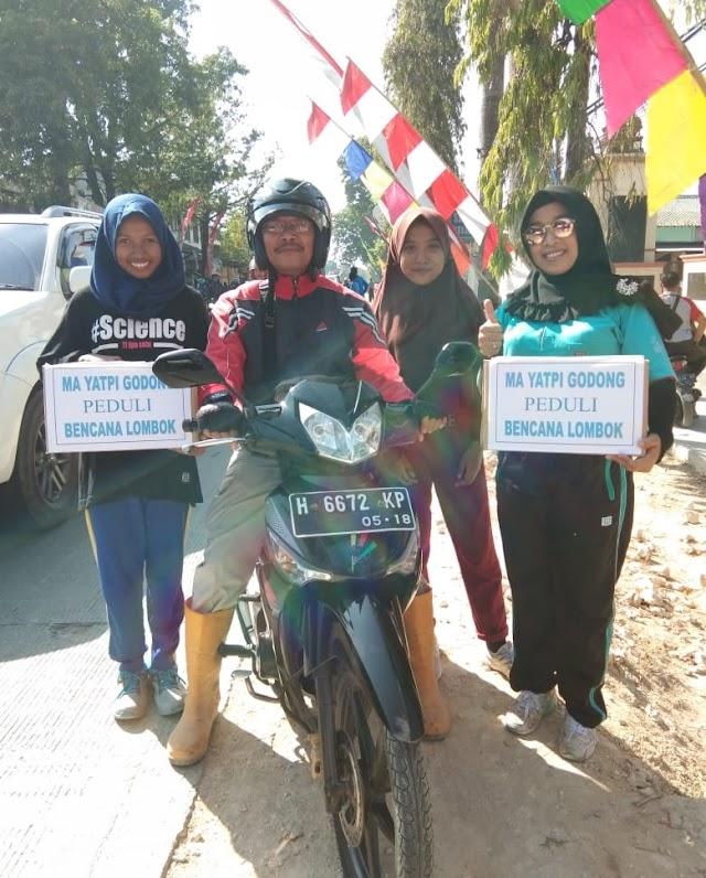 Osis Ma Yatpi Godong Galang Dana Untuk Korban Gempa Lombok
