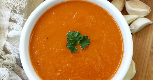From the Garden: Tomato Soup