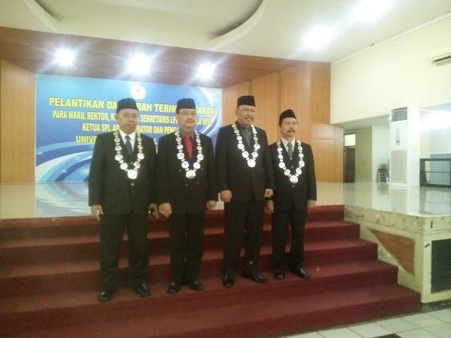 Mantan Dekan Fapet Unsoed Prof. Dr. Ir. Akhmad Sodiq, M.Sc.Agr  dilantik sebagai Wakil Rektor Unsoed