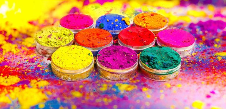 Happy Holi wallpaper 768x371 - Best Shayari images of holi 50+