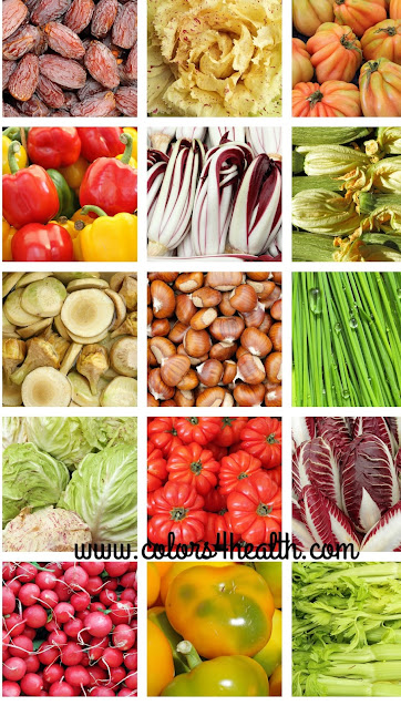 Fruit and Vegetable Grid