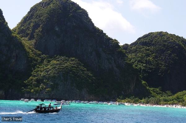 【泰國】初到普吉島(三) PIPI島 追逐10年前海灘上的李奧納多