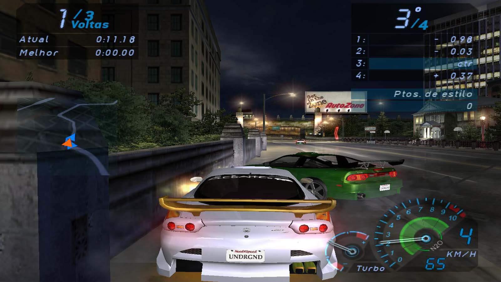 تحميل لعبة Need For Speed Underground 1 مضغوطة برابط واحد مباشر + تورنت كاملة مجانا