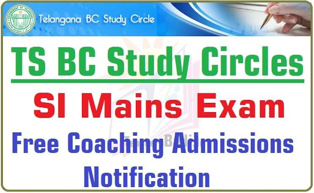 SI Mains Exam,Free Coaching,TS BC Study Circles