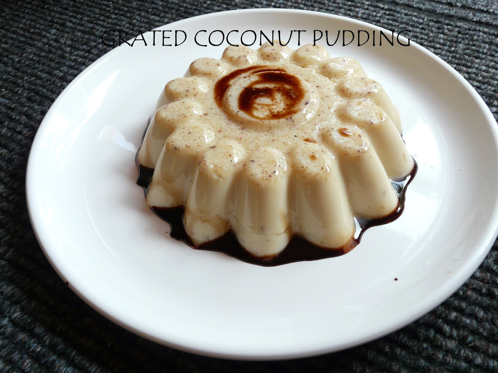 Easy dessert recipe simple coconut pudding for Easy recipe for desserts