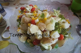 salad kentang mayonaise