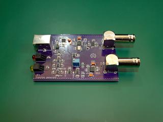 Placa do gerador de funções GF1, revisão A.