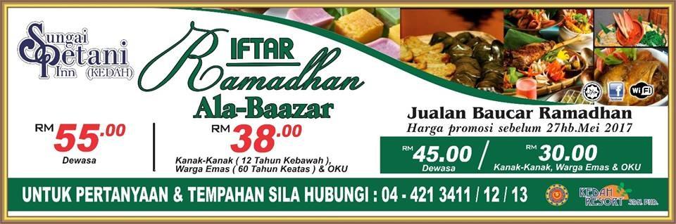 Buffet Ramadhan Amanpura hotel sungai petani