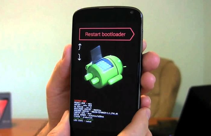 Factory Reset di android