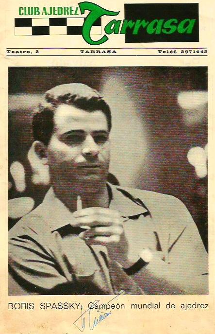 Simultáneas de Boris Spassky en Terrassa, 1969