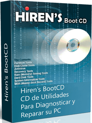 Hirens Boot CD box