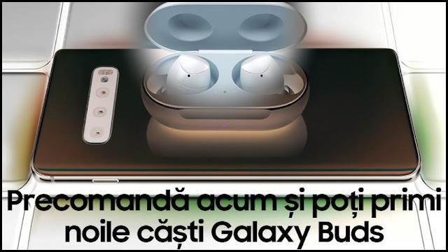 castigatori concurs samsung s10 casti galaxy buds