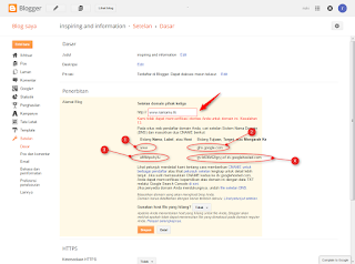 cara memindahkan domain TLD pada suatu blog ke blog lain - blog
