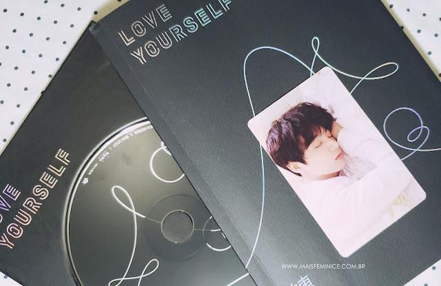Álbum BTS Love Yourself 轉 'Tear' - versão U - card jungkook