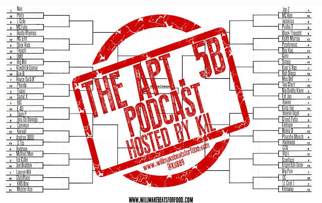 Apt. 5B Podcast Hosted by Kil: Who's The Dopest MC EVER?!?!?!?