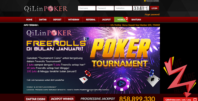QilinPoker - Agen Situs Poker Terbaik 2018