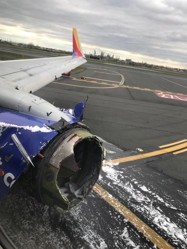 사우스웨스트항공 1380 비상착륙 Crash