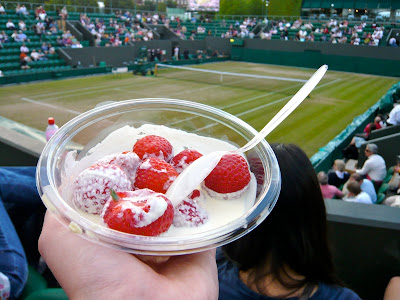 Image result for wimbledon strawberries and cream