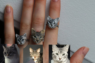Customized Cat Ring