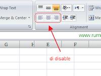Menonaktifkan Command Button pada Ribbon Excel
