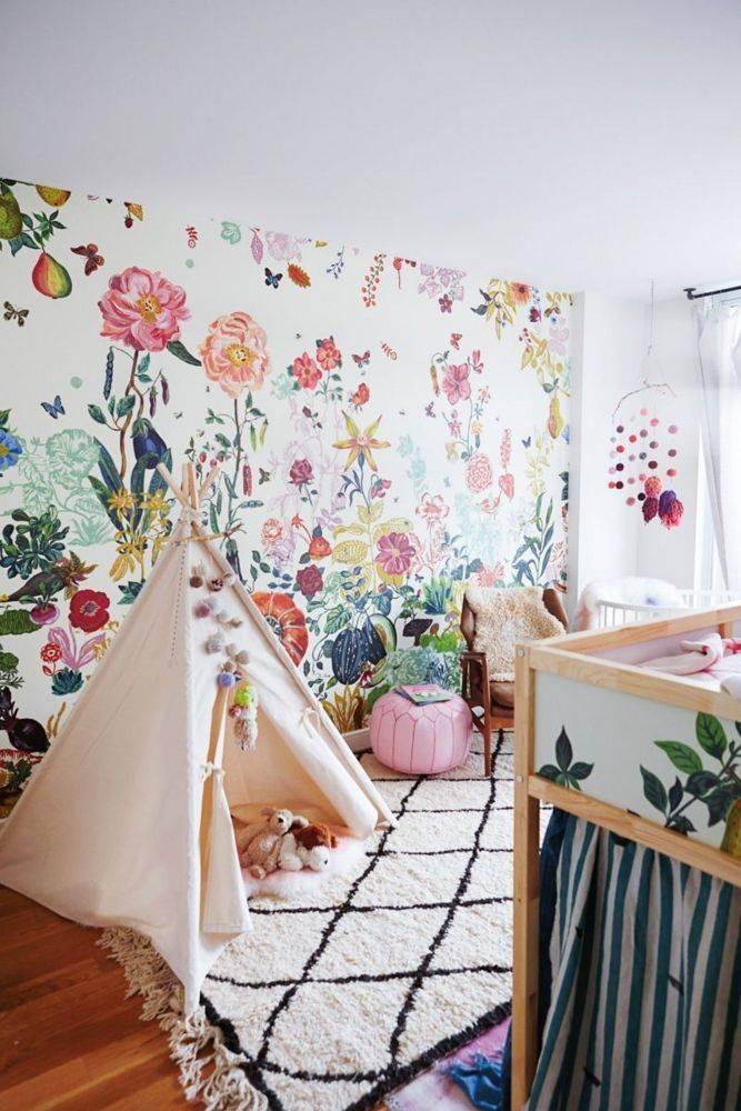 El dormitorio infantil bohemio y folk que querrías para ti