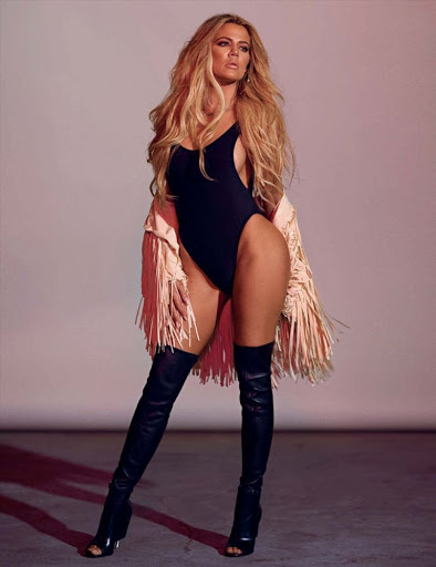 Khloe Kardashian sexy models photo shoot for GQ Magazine Germany